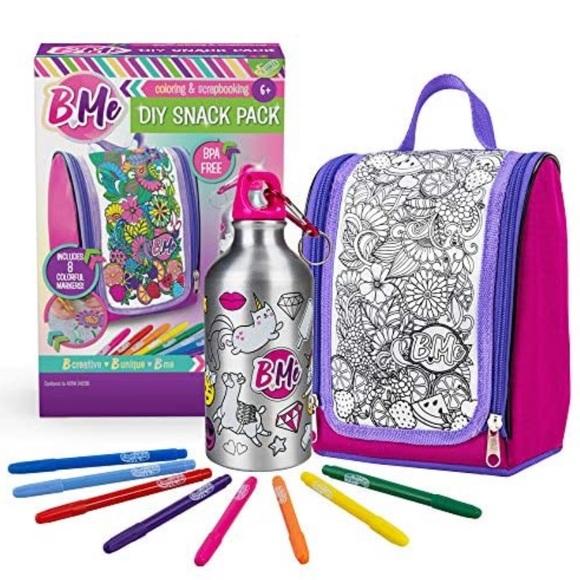 Creative Kids B. Me DIY Snack Pack Set
